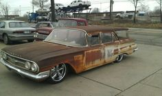 1960 Chevrolet Parkwood Station Wagon...Would love to see this restored!
