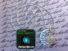 Glowing Orb Love You To The Moon and Back Necklace by MoniqueLula