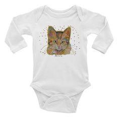 Cute Sloth Cat Baby Onesie Clothing Long Sleeve Jumpsuits Cotton Gift