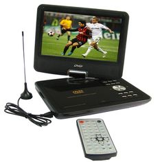 [$72.01] 9.5 inch TFT LCD Portable DVD with TV Function & 180 degree rotatable display & game function