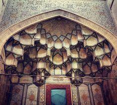 Les Plafonds étonnants de l'Architecture iranienne (5)