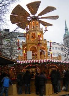 The Kripperlmarkt (crib-market) in Munich has been held since the middle of the 18th century. Located near the Christkindlmarkt, at the Kripperlmarkt one will find everything that is needed to make a Nativity scene.