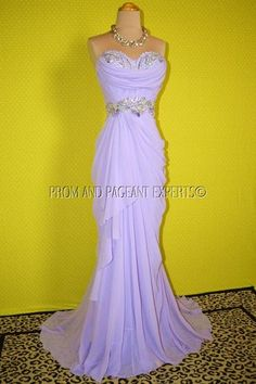 PROM PAGEANT EVENING FORMAL WEDDING LONG BALL GOWN DRESS