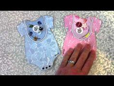 AUG 13 CLASS:  BABY ONESIE CARDS!