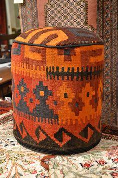 Kilim Ottoman