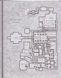 Dwarven dungeon level 1