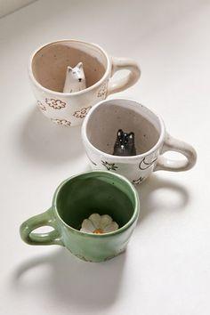 Clay Mugs, Ceramic Clay, Ceramic Pottery, Pottery Art, Clay Art Projects, Ceramics Projects, Diy Clay, Clay Crafts, Cerámica Ideas
