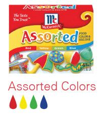 Frosting and Flavor Color Guide | McCormick