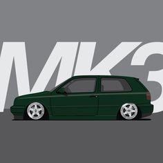 Volkswagen MK3 Golf GTI VR6