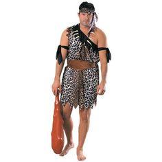Höhlenmensch Kostüm für Erwachsene Karneval Fasching Verkleidung: Amazon.de: 21,76€