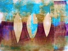 Printing on a different substrate is a great way to change things up. Watch this video  and get inspired to create Gelli  prints on nonwoven...