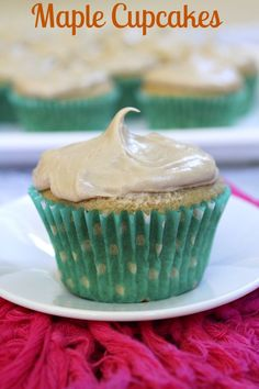 Maple Cupcakes #recipe