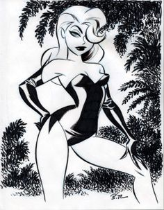 Darwyn Cooke & Bruce Timm — Poison Ivy by Bruce Timm Bruce Timm, Girl Cartoon, Cartoon Art, Art Sketches, Art Drawings, Mode Pin Up, Poison Ivy Dc Comics, Poison Ivy Cartoon, Poison Ivy Batman