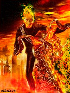 Forum > Fire And Water. Collection Of Screensavers From mawar ismail Dark Fantasy Art, Dark Art, Foto Gif, Scary Tattoos, Ghost Rider Marvel, Hero Movie, Motorcycle Art, Weird Art, Grim Reaper