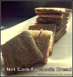 Hill House Rock with Tara Hill: {Recipe} Low Carb Bread Recipe Review: 0 Net Carb Focaccia Bread
