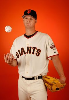 Pitcher Matt Cain #18 of the San Francisco Giants poses for a portrait during spring training photo day at Scottsdale Stadium on February 27, 2015 in Scottsdale, Arizona. (February 26, 2015 - Source: Christian Petersen/Getty Images North America) San Francisco Giants Photo Day