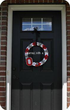 OSU Wreath