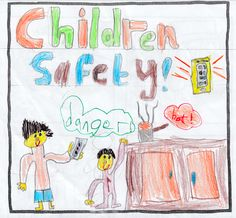 Raheen, age 5 Q: How do you feel when adults are distracted by their phones? A: Not good #turnofftunein #childsafetyweek #distractionisdangerous