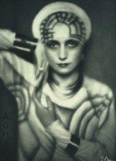 ♕ Vintage Costume Variations ♕ Madame Agnès, Paris, 1927 by Madame D'Ora