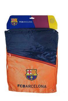 7928617e387 Backpack FC BARCELONA Soccer Book Cinch Bag Sack MESSI Authentic Official   rhinox  FCBarcelona Barcelona