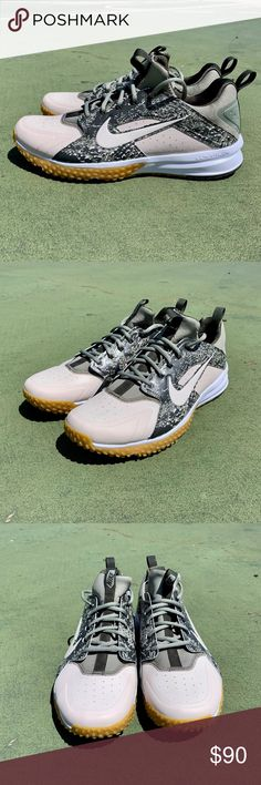 wholesale dealer 513f2 e2006 Nike Alpha Huarache Turf Baseball Trainers New without box Men s size (UK  EUR cm) Style Code  Color  Khaki, Green, Camo Nike Shoes Athletic Shoes