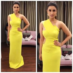Parineeti Chopra in Beautiful in yellow dress