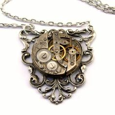 Steampunk jewelery....very, very creative and am really falling in love with all of their creations!