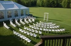 Outside Lawn for ceremony