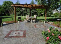 brick patio wall designs | patio ideas : patio paver innovative ... - Brick Paver Patio Ideas