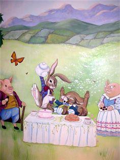 Deborah Joy-Children's Murals, Outdoor Murals, Fine Art, Tromp L`Oeil, Faux Finishing