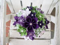 Wedding Paper Flower Package Bouquets