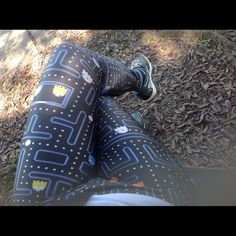Pacman leggings by Poprageous ⚡️FLASH SALE⚡️ High quality comfy waistband. Similar to black milk clothing. Made in Los Angeles USA. Fits like Black Milk Clothing. Not see through. Poprageous Pants Leggings
