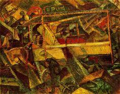 carlo carrà | the tram