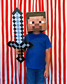 Minecraft Steve! Such an awesome costume