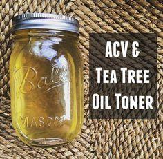 DIY Natural Remedy: ACV Tea Tree Oil Toner | The Friendly Fig