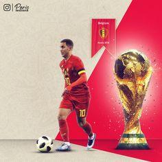 Hazard Belgium FIFA WORLD CUP 2018