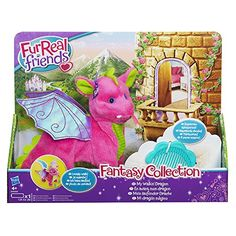 FurReal Friends Fantasy Collection: My Walkin' Dragon Pet. Your little FurReal Friend fan will love this My Walkin' Dragon from the Fantasy Collection. She is pink in color with purple dragon wings an...