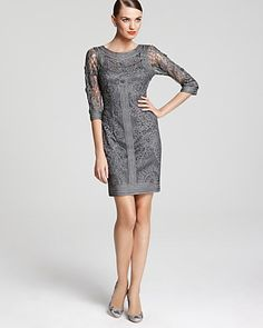Sue Wong Dress - Lace | Bloomingdale's