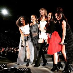 Little Mix smashed it in front of 50,000 screaming fans tonight! #1989tourSantaClara