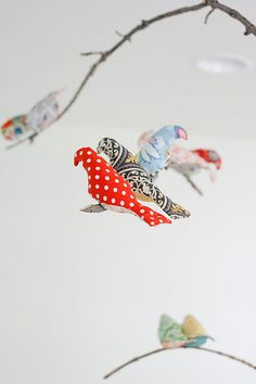 Bird Mobile - DIY idea