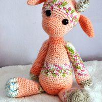 Emily the Giraffe Modification Amigurumi