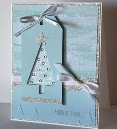 CASE Tree Tag Card by Diana Gibson - Cards and Paper Crafts at Splitcoaststampers