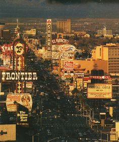 Bulldozed and Imploded, But Not Forgotten. Vegas in the late 80's, early 90's... This is how I remember it growing up!