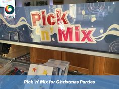 Pick n Mix available for hire for Corporate Events, Parties, Weddings & more. Brand or customise the Pick n Mix Stand, sweet bags/cups with your designs. Office Christmas Party, Christmas Themes, Sweet Bags, Pick And Mix, Office Parties, Event Marketing, Party Entertainment, Corporate Events, Your Design