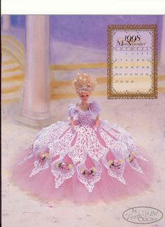 Barbie Crochet Miniatures and More Things - A Little Bit Of Everything & More: Crochet Dress For Barbie - Annie Potter Presents - 1997