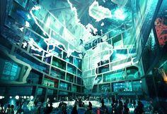 Un pavillon «Cube d'eau» à l'Exposition internationale 2012