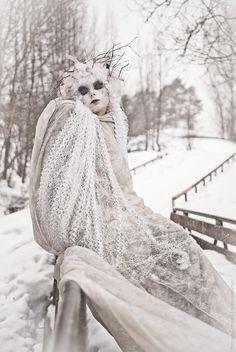 Snow ghost.