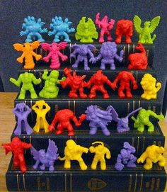 Monster in My Pocket is listed (or ranked) 50 on the list The 63 Most Nostalgia-Inducing '90s Toys