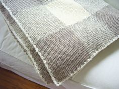 Gingham Blanket | A journey in knitting & how to make this pattern