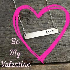 """Ladies Valentine's Day is around the corner. Is there a piece that you have been wanting? Contact us to create a """"wish list"""" then let your special someone know that we can help them. All Valentine orders placed by February 5th will receive a 15% discount. Email: sales@urbansparrowdesigns.com #urbansparrowdesigns #handstampedjewelry #personalized #valentineday #bemine #love #wishlist by urbansparrowdesigns"""